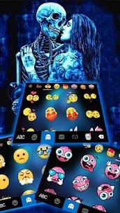 Ghost Lovers Kiss Tema de teclado