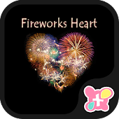 Fireworks Heart Wallpaper