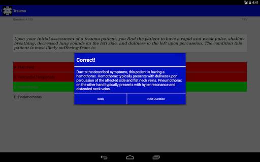 EMT Study - NREMT Test Prep screenshot 8