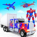 Police Truck Transform Robot icon