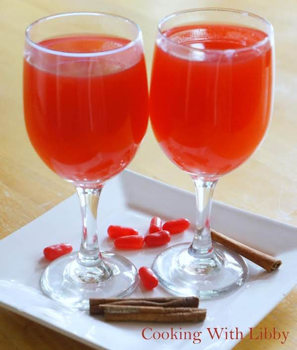 Grandma's Red Hot Apple Cider