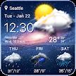 live weather widget accurate APK