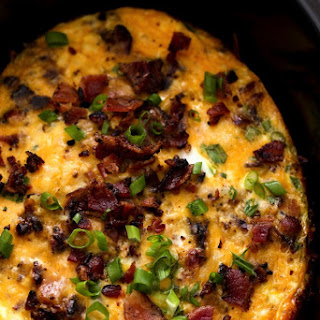 Bacon, Egg & Hash Brown Casserole.