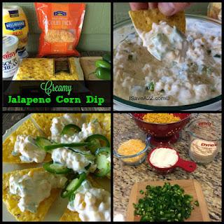Creamy Jalapeno Corn Dip.