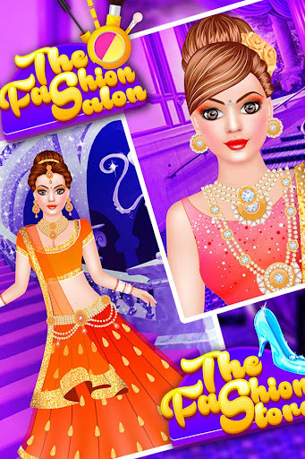 Royal Indian Doll Wedding Salon : Marriage Rituals 1.16 screenshots 2