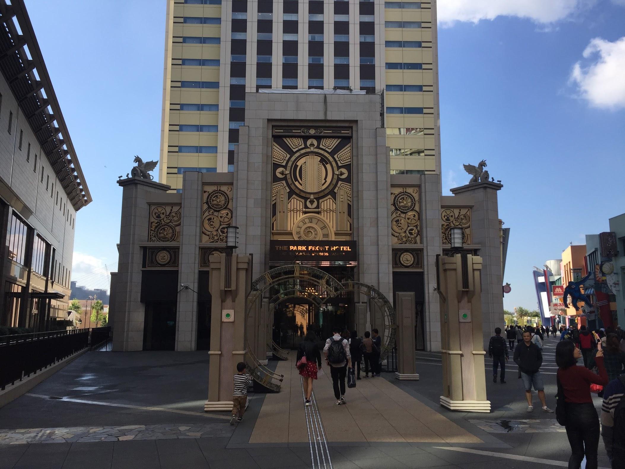 Hotel depan Universal