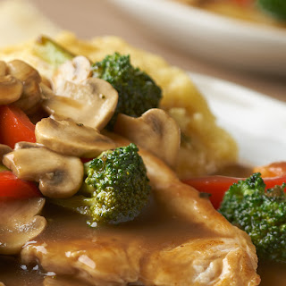 Turkey & Vegetables with Balsamic Pan Sauce