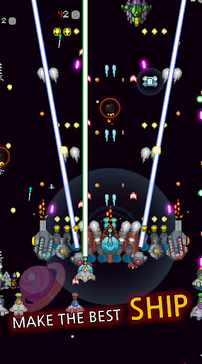 Grow Spaceship - Galaxy Battle apkmr screenshots 11