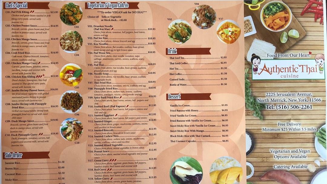 Authentic Thai Cuisine At Authentic Thai Cuisine We Pride