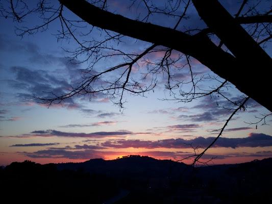 Blue sunset di cristina86