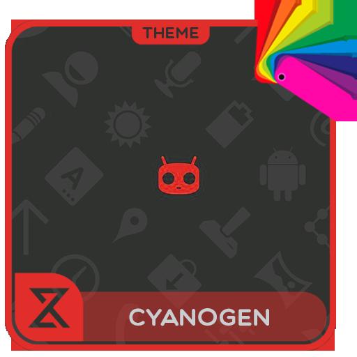 Theme XPERIEN™-Cyanogen Red