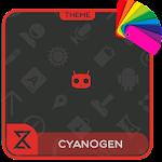 Theme XPERIEN™-Cyanogen Red Icon