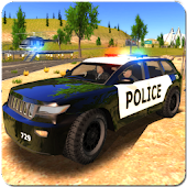 Crime City Police Car Driver icon