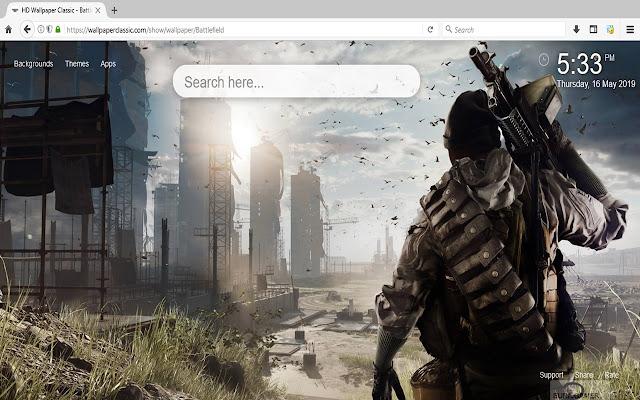 Battlefield Wallpapers HD New Tab