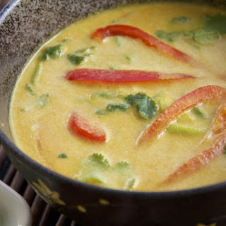 Coconut Curry Soup-Raw Vegan