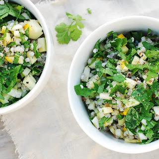Buckwheat, Zucchini and Rocket Salad.