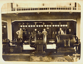 Photo: Gépterem áramfejlesztő gépekkel