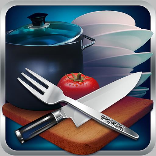 隐藏的对象 - 清洁杂乱的厨房 解謎 App LOGO-APP試玩