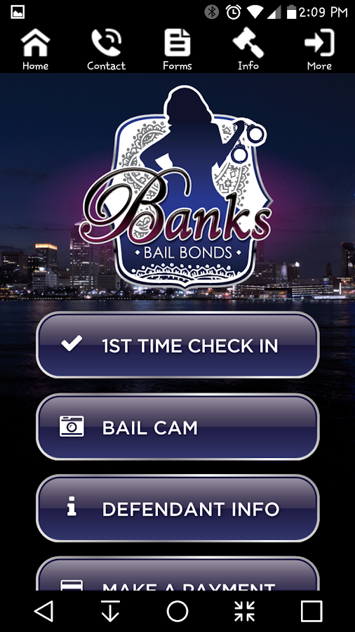 Banks Bail Bonds- screenshot