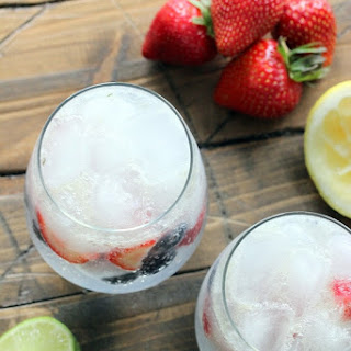 Strawberry Blueberry LimeAid