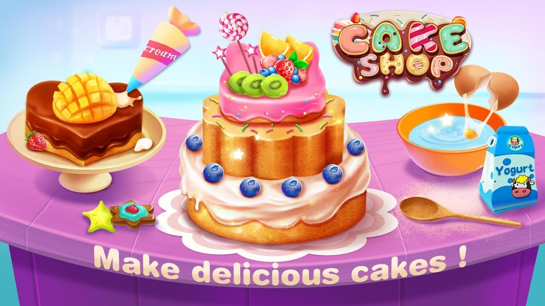 🤤🍰 Cake Shop  - Bake & Decorate Boutique Android App Screenshot