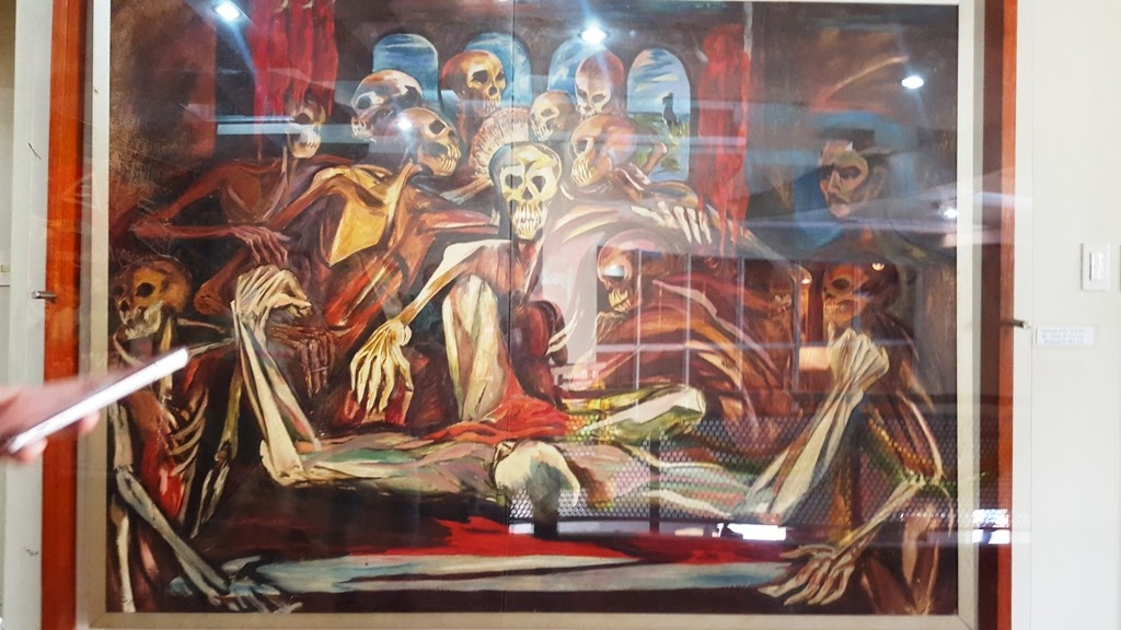 SABBATH OF THE WITCHES BY JAIME DE GUZMAN IS A CRYPTIC ARTWORK OF PRE-MARTIAL LAW PLANNING INSIDE MALACANANG PALACE
