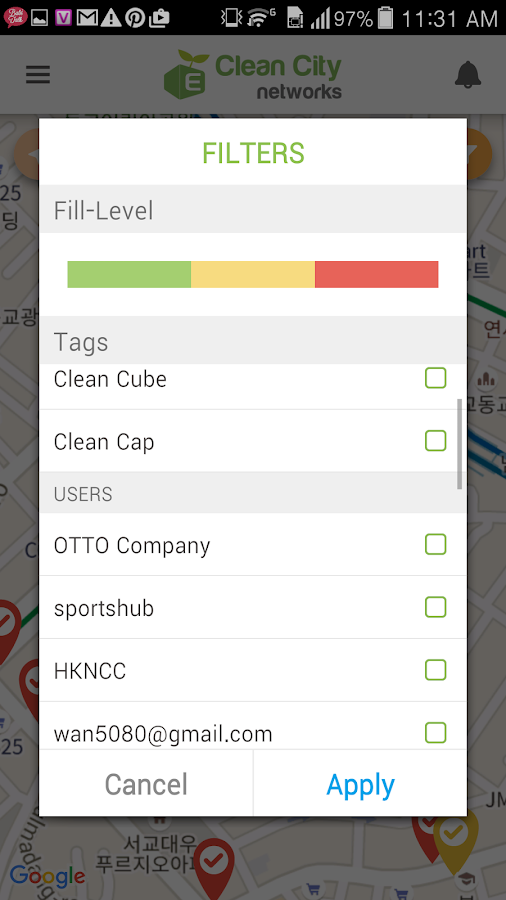 Clean City Networks- screenshot