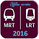 Singapore Subway Map 2016 icon