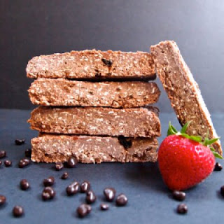 Chocolate Covered Strawberry Protein Bars