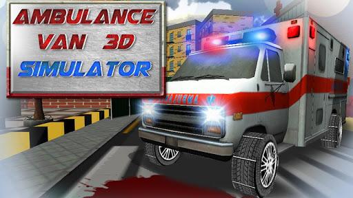 Ambulance van 3d simulator