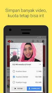 YouTube Go- gambar mini screenshot