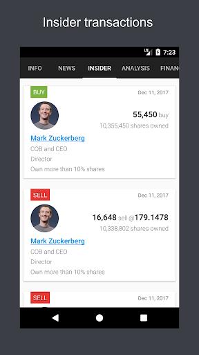 ? ? JStock - Stock Market & U.S. Investing screenshot 2