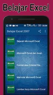 Mudah Belajar Excel - náhled