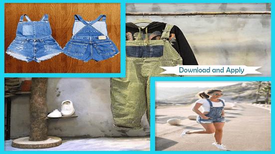 Affordable DIY Overalls Ideas - náhled