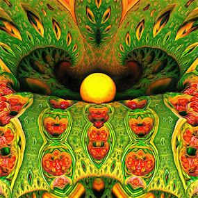 MB3D - 607 by Siniša Dalenjak - Illustration Abstract & Patterns ( mandelbulb, 3d, fractal )