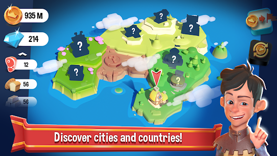 Crafty Town – Merge City Kingdom Builder Mod Apk Download For Android and Iphone 4