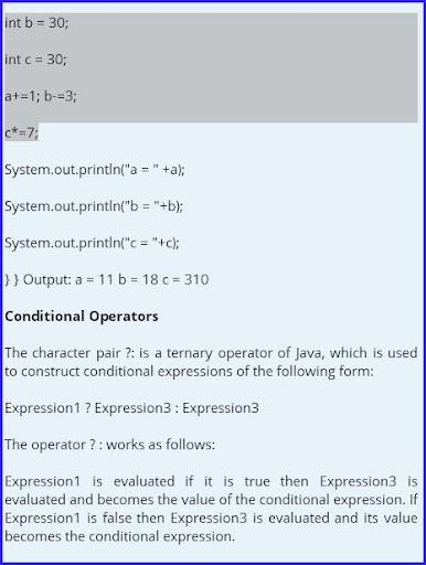 Learn Java Program