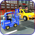 City Police Car Lifter Game 3D - Car Lifting Games icon