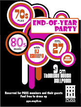 Photo: Large poster for end-of-year party