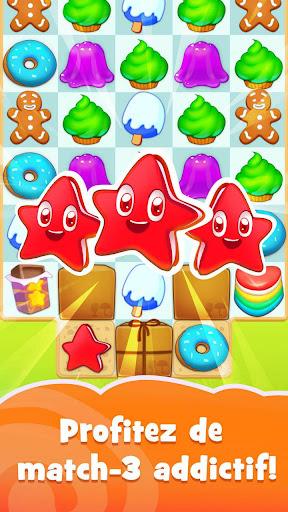 Candy Riddles: Gratuit Match 3 Puzzle  captures d'u00e9cran 1