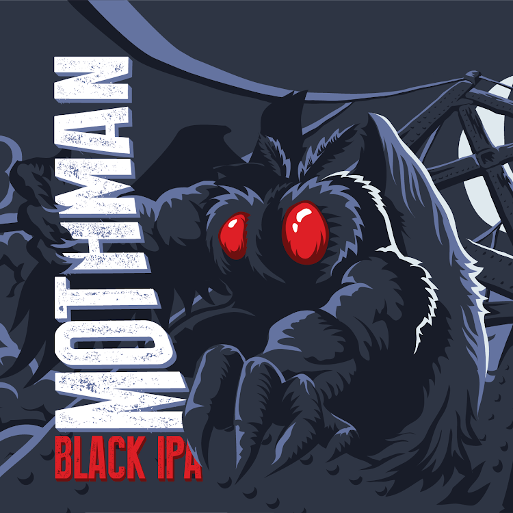 Logo of Greenbrier Valley Brewing Company Mothman Black IPA