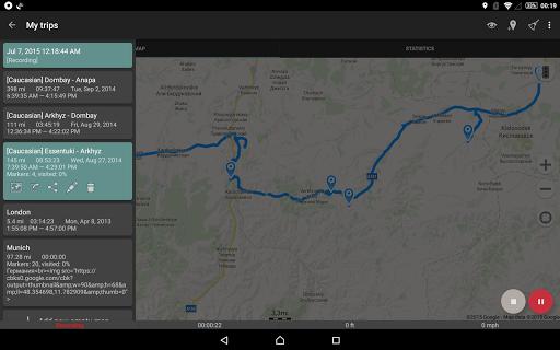 Geo Tracker - GPS tracker  screenshots 12