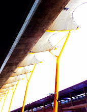 Photo: Madrid airport architecture is beautiful.