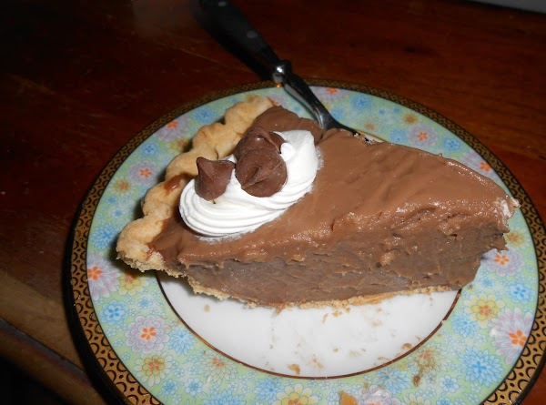 Gone To Heaven Chocolate Pie Recipe