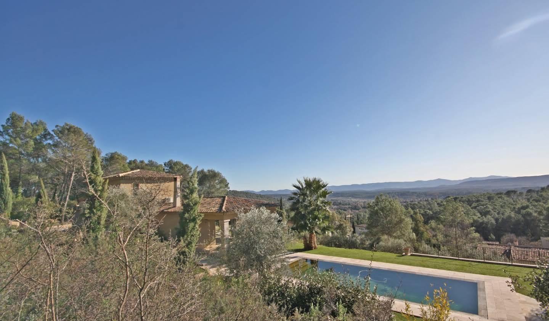 Villa avec piscine et terrasse Lorgues