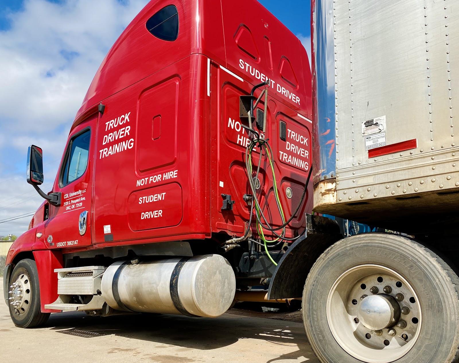 oklahoma cdl tractor-trailer semi truck
