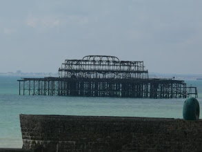 Photo: The old Brighton Pier