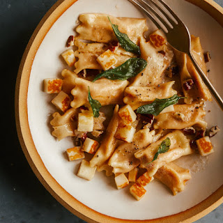 Creamy Sweet Potato Agnolotti.
