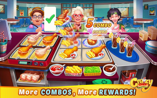 Crazy Chef: Fast Restaurant Cooking Games apkslow screenshots 9