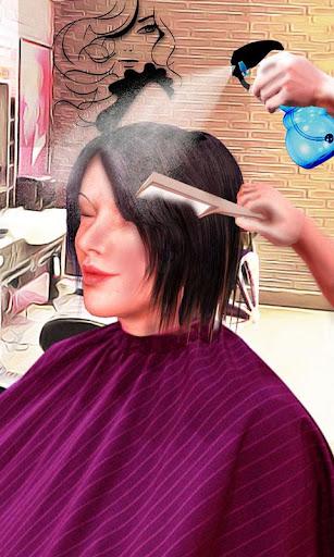 Girls Haircut, Hair Salon & Hairstyle Games 3D 1.4 screenshots 1